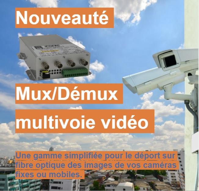 Gamme IFOTEC pour vidéo analogique