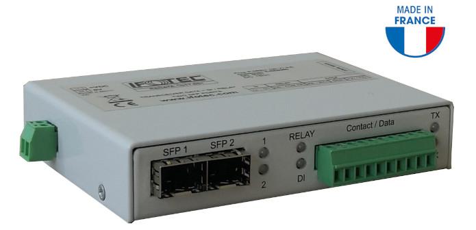 RSData transmission de données dur fibre optique RS232 / 422 /485